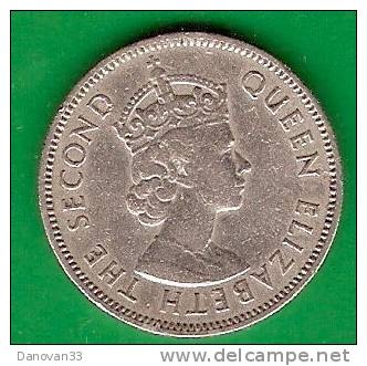 Half  Rupee     SEYCHELLES  1960  (PRIX FIXE)   (CN25) - Seychelles