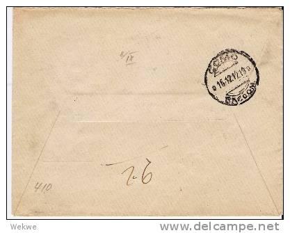 Ig017/ ITALIEN - LEVANT -  Rhodos-Zudruck Auf V.E.III, Einschreiben 1912 - 11. Foreign Offices