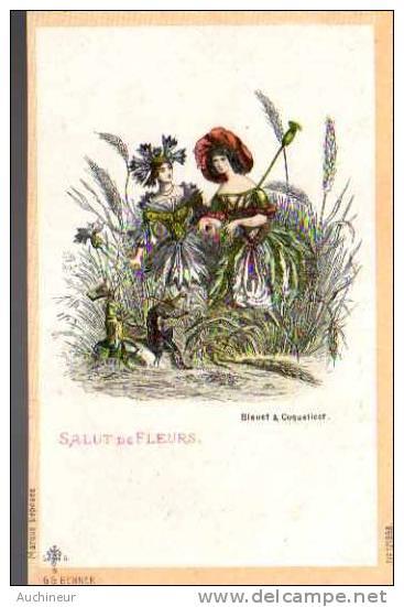G G BENNER - Salut De Fleurs - Bleuet & Coquelicot - Femmes