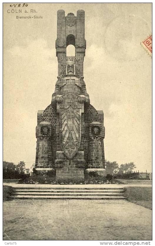 ALLEMAGNE - Coln - Monument Bismarck - Koeln