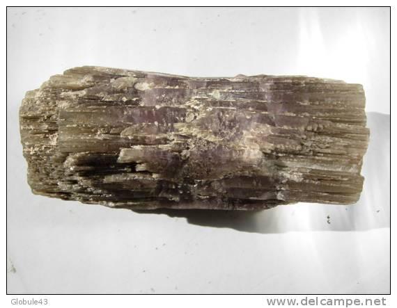 ARAGONITE (gros Cristal De 10 X 3,8 Cm) Violet - Minerals