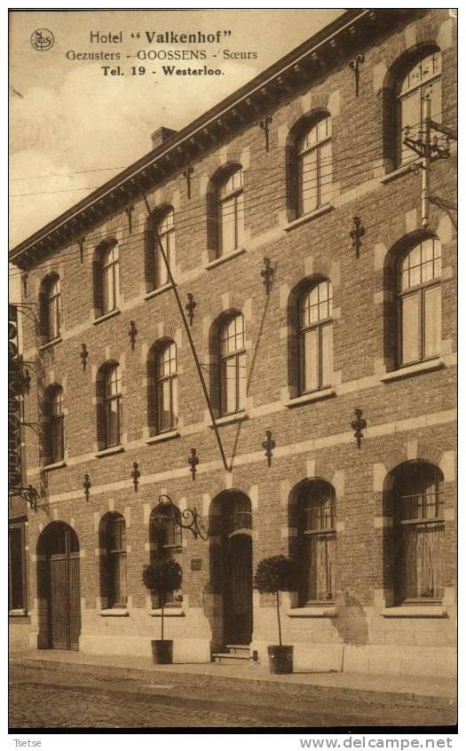 "Westerloo - Hôtel "" Valkenhof "" - Gezusters - Goossens - Soeurs  -1936 - Westerlo"