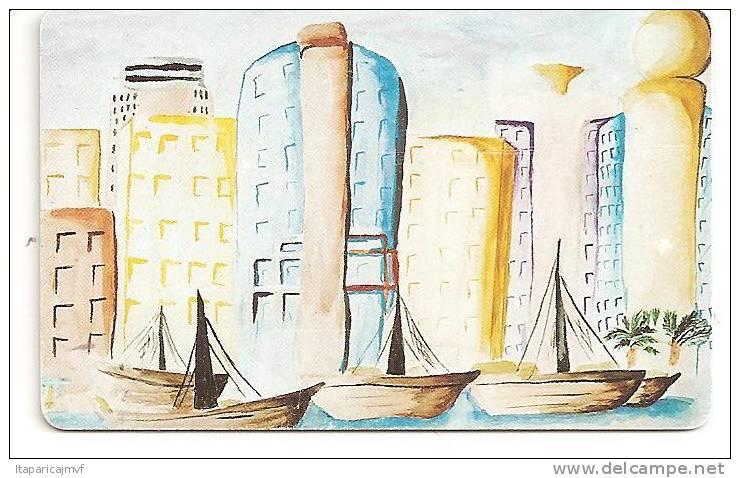Telecarte   :  Paysage Ville  Numéro 1 Sur 6 - Herkunft Unbekannt