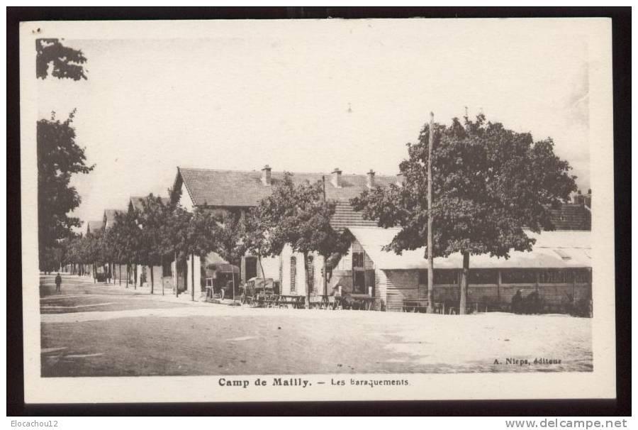 Camp De Mailly Les Baraquements - Regiments