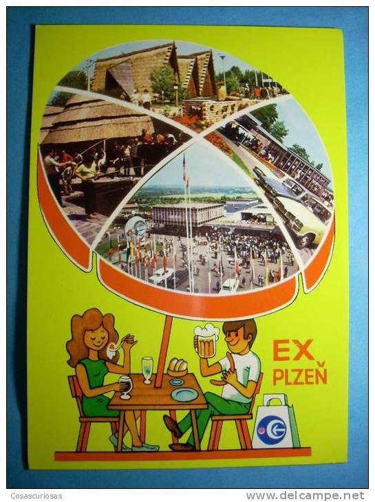 R.8819  CHECOESLOVAQUIA  CESKOSLOVENSKO  EX PLZEN  AÑOS 70/80  MAS EN MI TIENDA - Postales