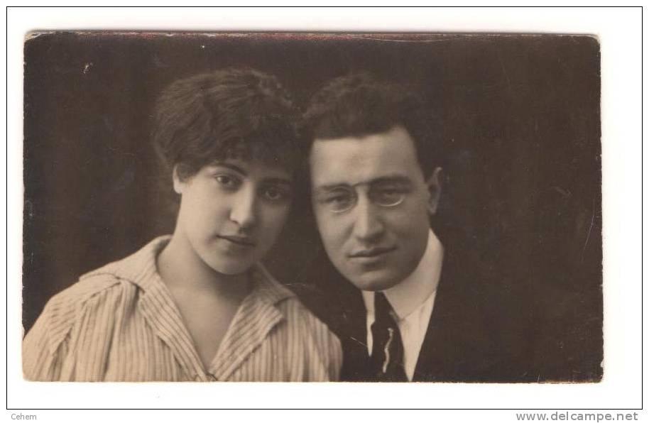 ITALIE CARTE PHOTO COUPLE 1919 à Identifier Et à Situer - Italia