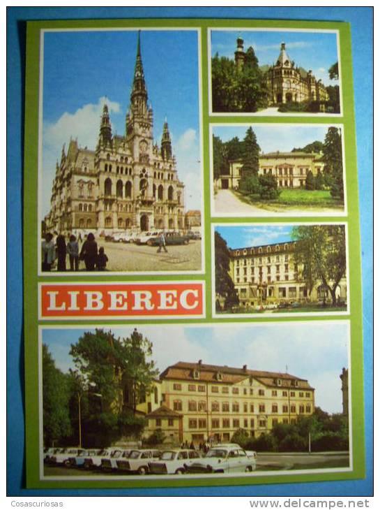 R.8938  CHECOESLOVAQUIA  CESKOSLOVENSKO  LIBEREC  AÑOS 60/70  MAS EN MI TIENDA - Postales