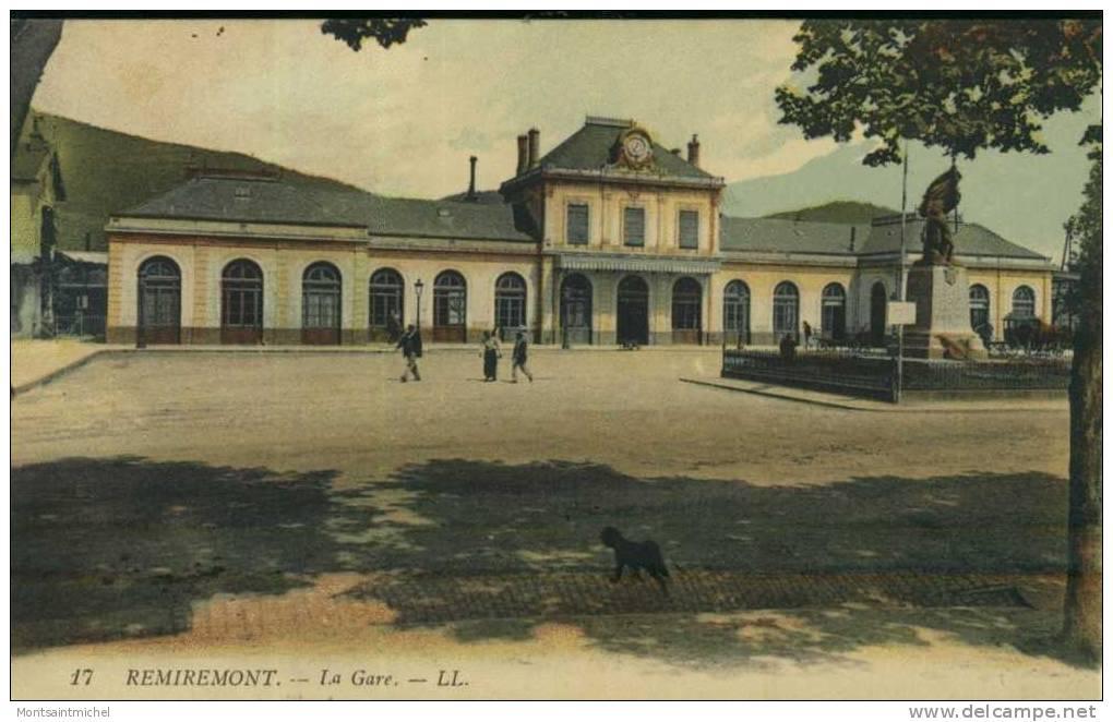 Remiremont. Vosges 88. La Gare. - Remiremont
