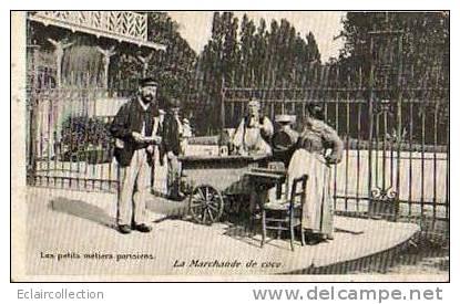 Les Petits Métiers Parisiens....La Marchande  De Coco - Petits Métiers à Paris
