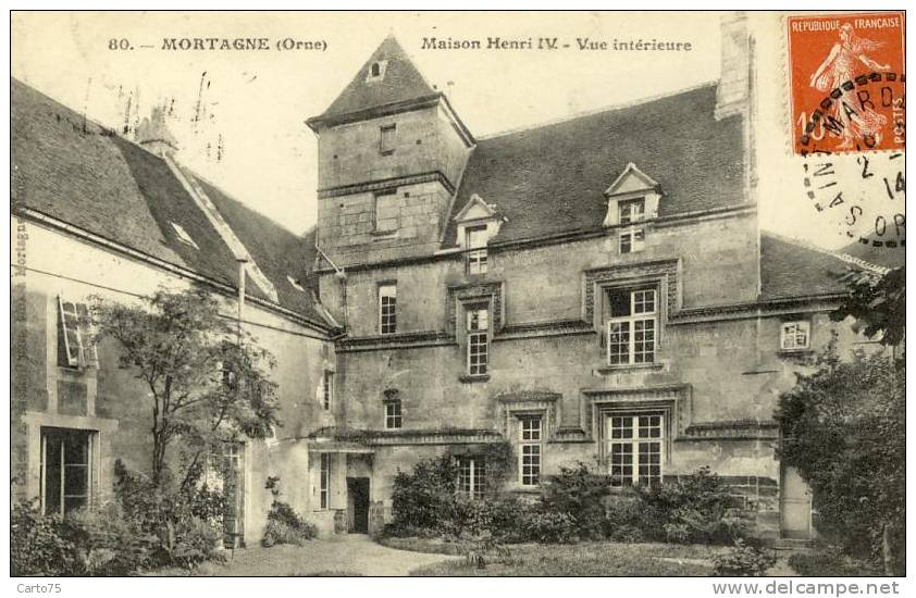 Architecture - Maison Henri IV - Mortagne - Monuments