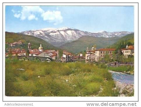 14011)cartolina Illustratoria PONTREMOLI -  Panorama  , Nuova - Massa
