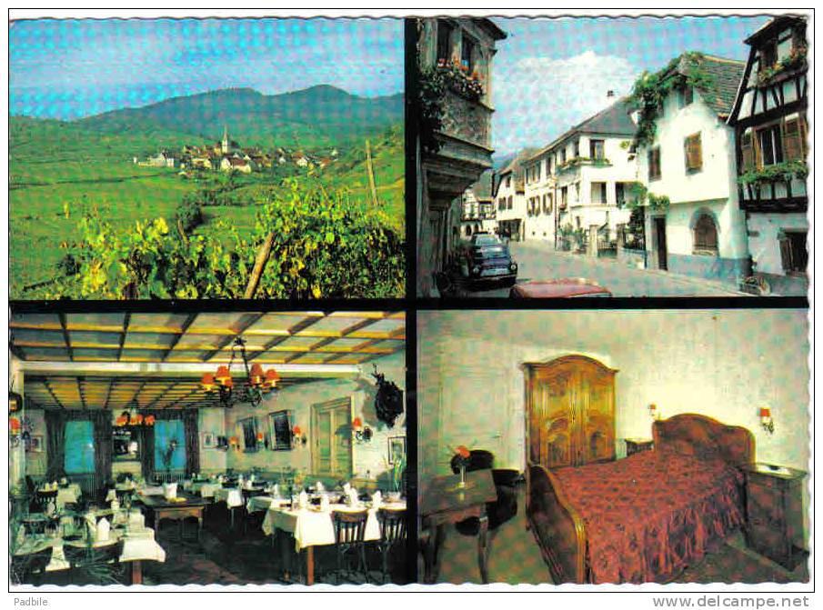 Carte Postale 68. Niedermorschwihr  Hotel-Restaurant De L'Ange  Trés Beau Plan - Non Classés