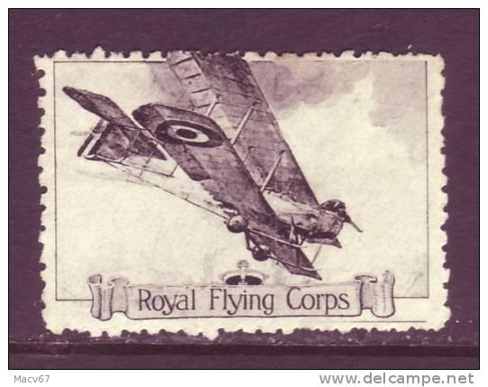ROYAL FLYING CORPS.  WW I  AEROPHILATELIC  VIGNETTE - 1902-1951 (Kings)