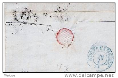 DK-C9018/ Faaborg 1854, Mi. I II C, Vollrandig, Nach Hamburg - 1851-63 (Frederik VII)