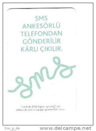 Türkei - Turkey - 50 Kontör -SMS -  Date : Nisan 2009 - Turquie