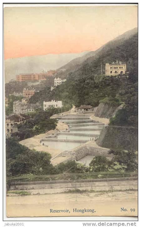 #06 HONGKONG RESERVOIR  OLD POSTCARD - China (Hongkong)