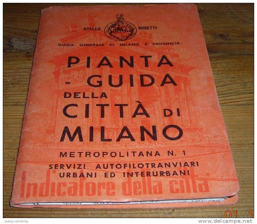 Planta-Guida Della Citta Di Milano. - Livres, BD, Revues