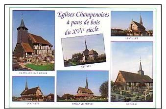 Eglises Champenoises : Multi-vues - Champagne-Ardenne