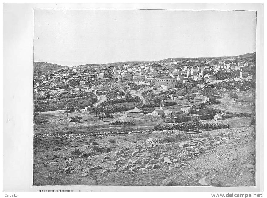 Photogravure Publiée En 1895 - Nazareth - PALESTINE - Reproductions