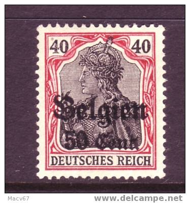 Belgium German Occupation N 20  * - WW I