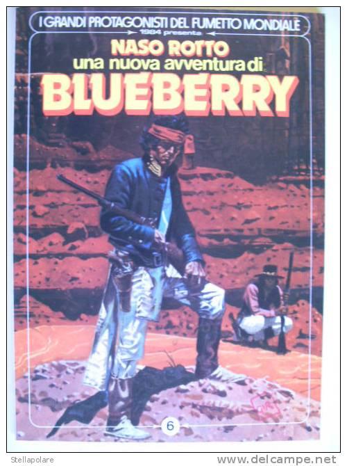 """1984 Presenta - BLUEBERRY - """"NASO ROTTO"""" - Zonder Classificatie"""