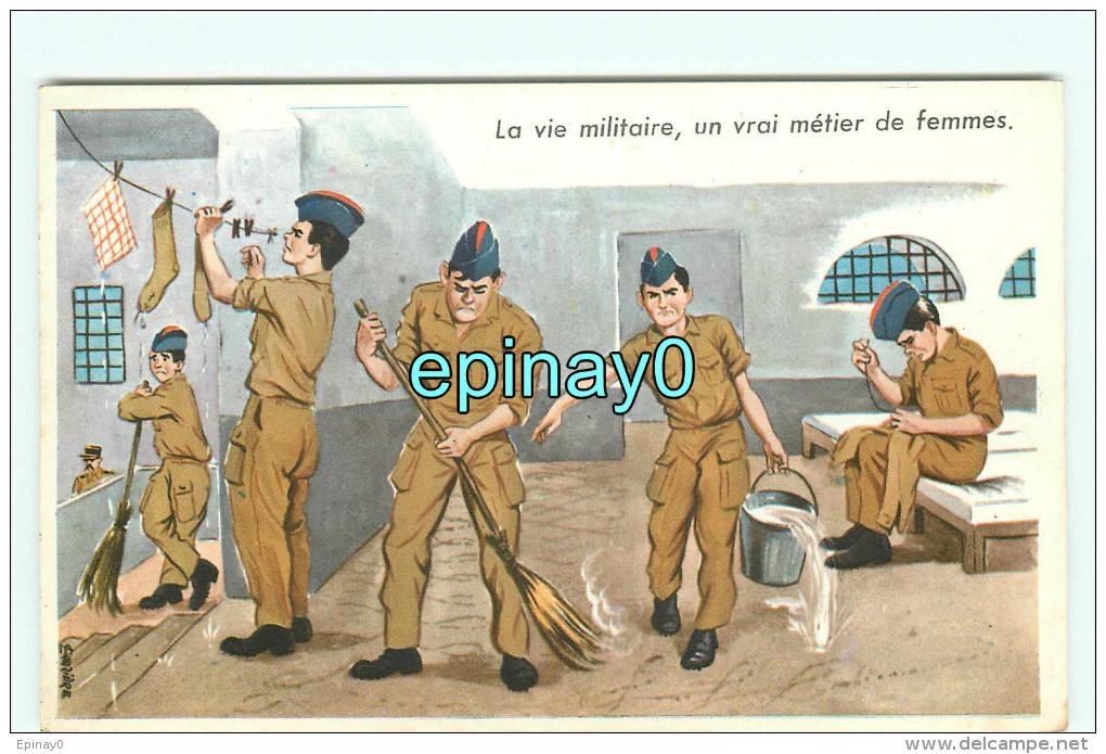 B - ILLUSTRATEUR - CARRIERE - La Vie Militaire Un Vrai Métier De Femmes N° 709 - Carrière, Louis