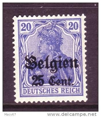 Belgium German Occupation N 18a  * - Ocupación 1914 – 18