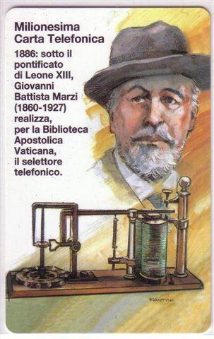 VATICAN SCV 47 -  Milionesima Carta Vaticana ( MINT Card ) - Vatican