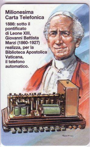 VATICAN SCV 46 –  Milionesima Carta Vaticana ( MINT CARD ) * Religion Papas Paus Pape Papst Papa - Vatican