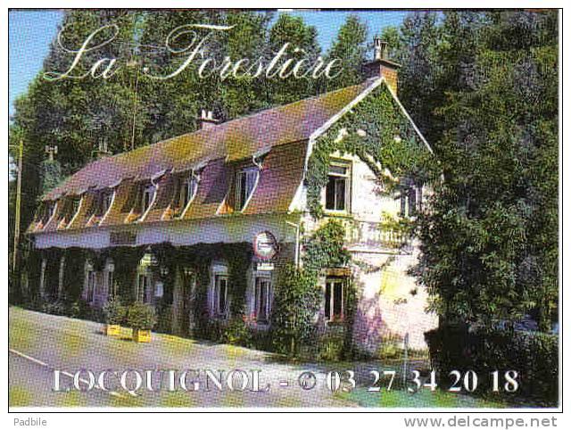 """Carte Postale 59.  Locquignol  Café-Hotel-Restaurant """"La Forestière""""  Rue Du Quesnoy Trés Beau Plan - France"""