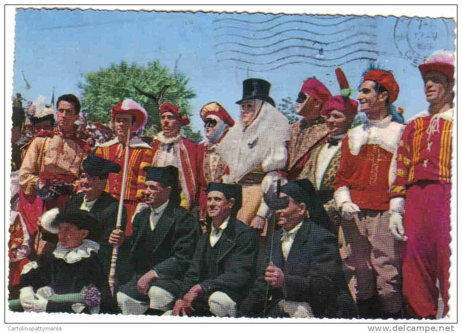 Antichi Costumi Della Sartilia Di Oristano - Costumi