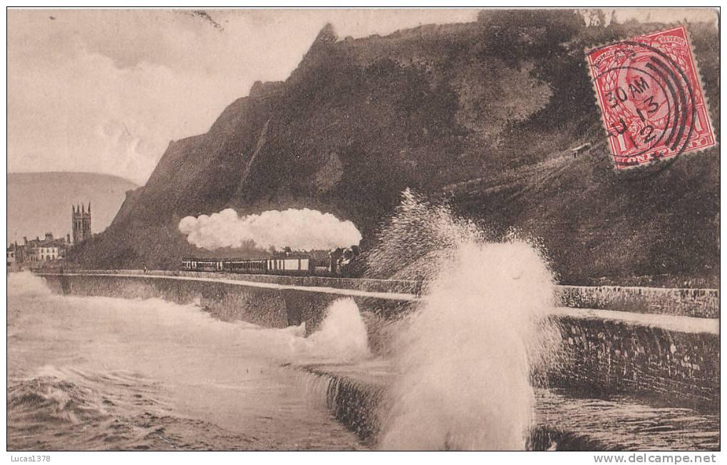 TEIGNMOUTH  / EAST PARADE / TRES BELLE CARTE AVEC TRAIN / 1912 - Ayrshire