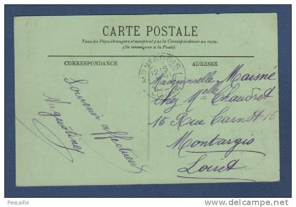 94 - CP JOINVILLE LE PONT - VUE SUR LE PETIT BRAS DE LA MARNE - LL - ANIMATION PECHEURS BARQUES - Joinville Le Pont