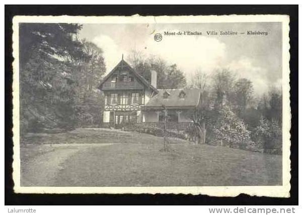 Mont-de-l'Enclus. A1. Villa Sablière - Kluisberg. - Mont-de-l'Enclus