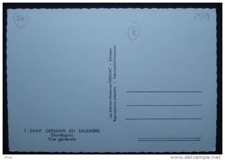 24 Saint-Germain-du-Salembre    D24D  K24309K  C24418C RH056205 - France
