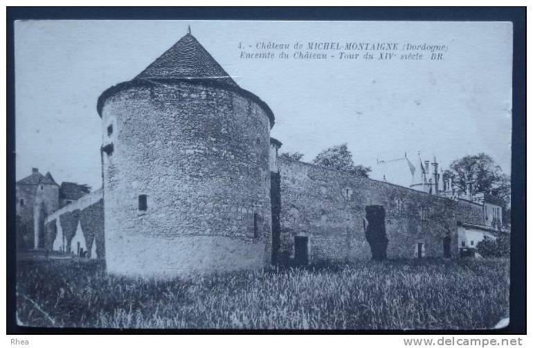 24 Saint-Michel-de-Montaigne Chateau    D24D  K24568K  C24466C RH056223 - France