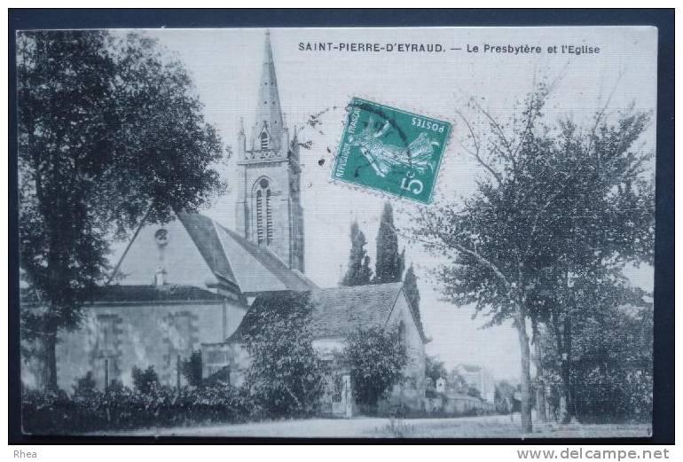 24 Saint-Pierre-d'Eyraud Eglise Presbytere    D24D  C24487C RH056238 - France