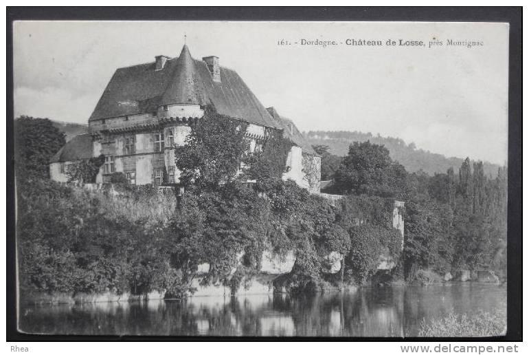 24 Thonac Chateau    D24D  K24291K  C24552C RH056249 - France