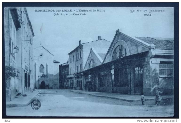 43 Monistrol-sur-Loire Halle    D43D  K43137K  C43137C RH056429 - Monistrol Sur Loire