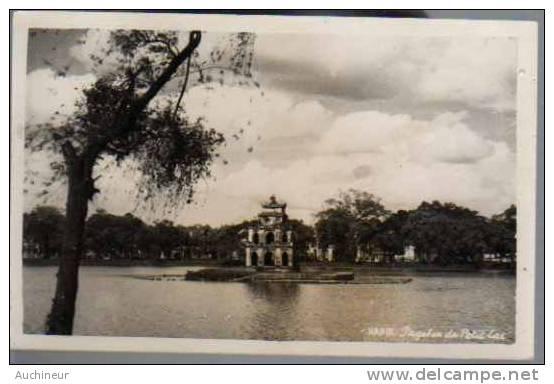 Carte Photo - Hanoï - Pagodon Du Petit-lac - Vietnam