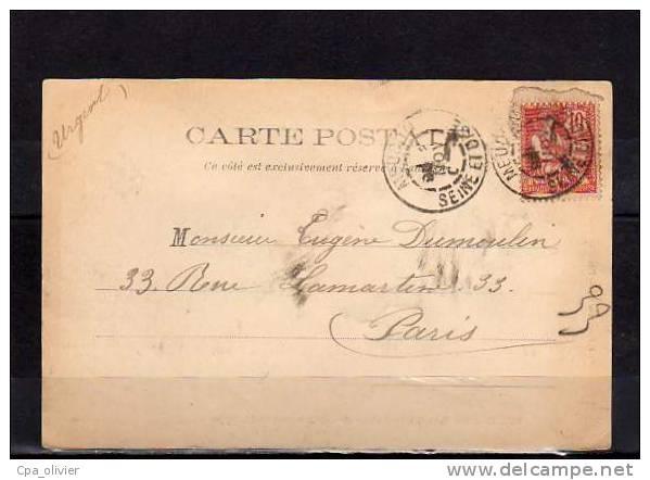 92 MEUDON Orphelinat St Philippe, Entrée, Grilles, Ed Faidherbe 16, 1902 - Meudon