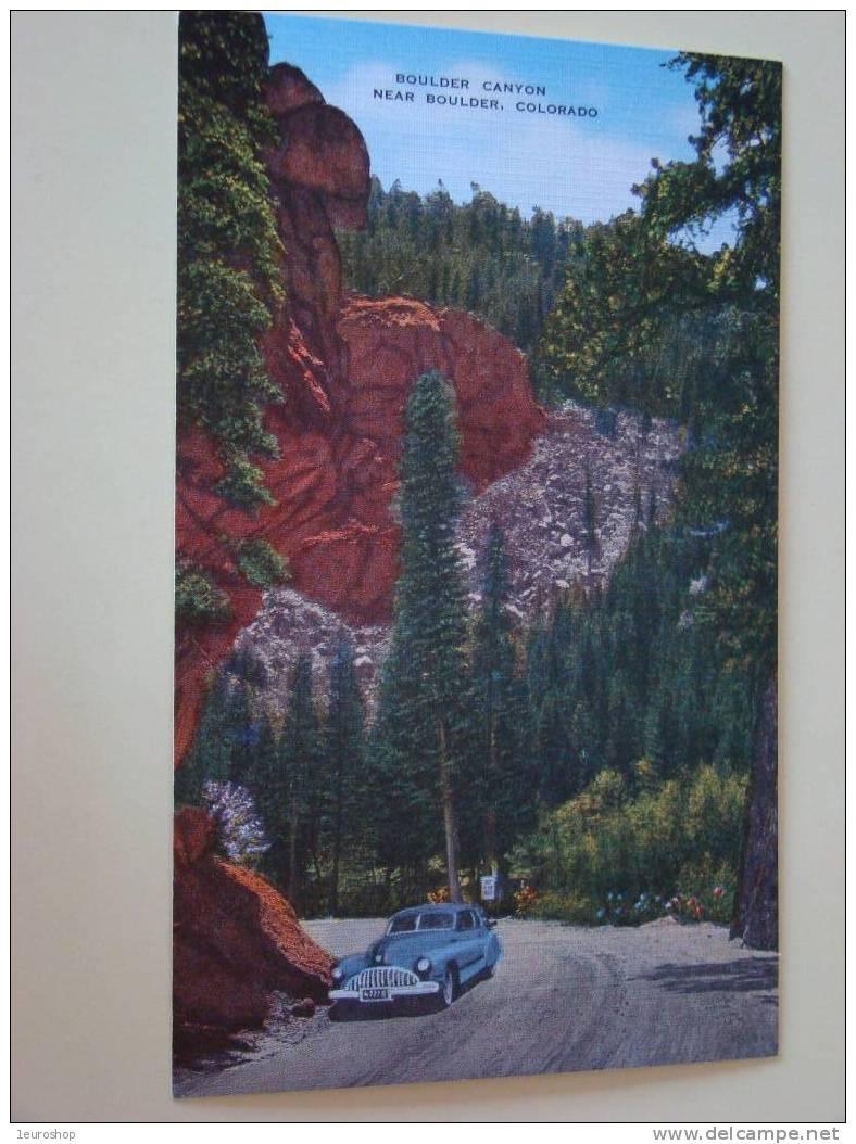Boulder Canyon Near Boulder Colorado - Etats-Unis