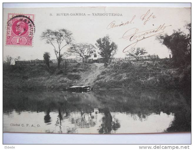 River Gambia Yarboutenda CFAO Voyagé Bathurst - Gambie