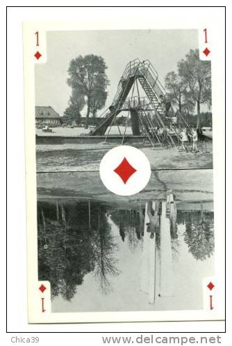 002401 à 04 - TURNHOUT Centre Mondial De La Carte à Jouer - Cartes à Jouer