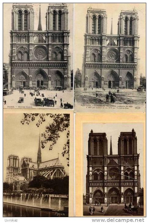 Lot De 25 CPA-CPSM De Notre-Dame De Paris (Lot N° 8) - Cartes Postales