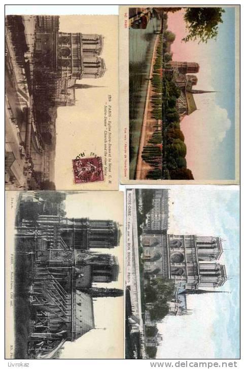 Lot De 25 CPA-CPSM De Notre-Dame De Paris (Lot N°6) - Cartoline
