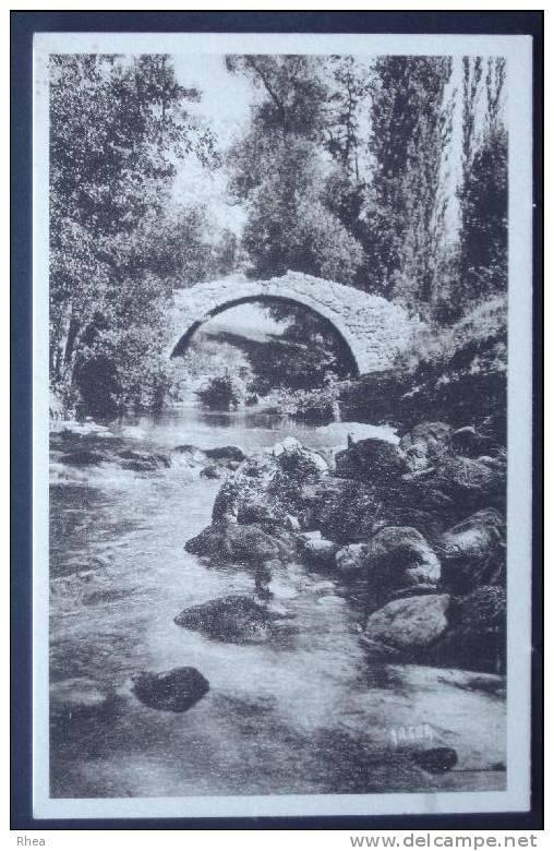 48 Meyrueis Pont Sépia    D48D  K48096K  C48096C RH056729 - Meyrueis