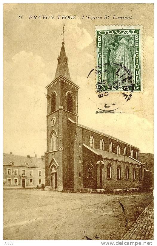 PRAYON TROOZ L'Eglise St Laurent - Trooz