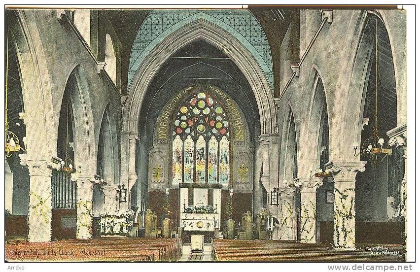 Interior Holy Trinity Church - Aldershot - Non Classificati