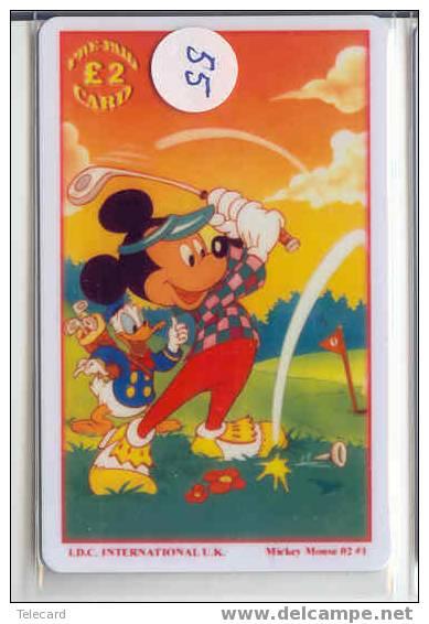 Disney Phonecard Walt Disney World Orlando USA  (55) - Disney